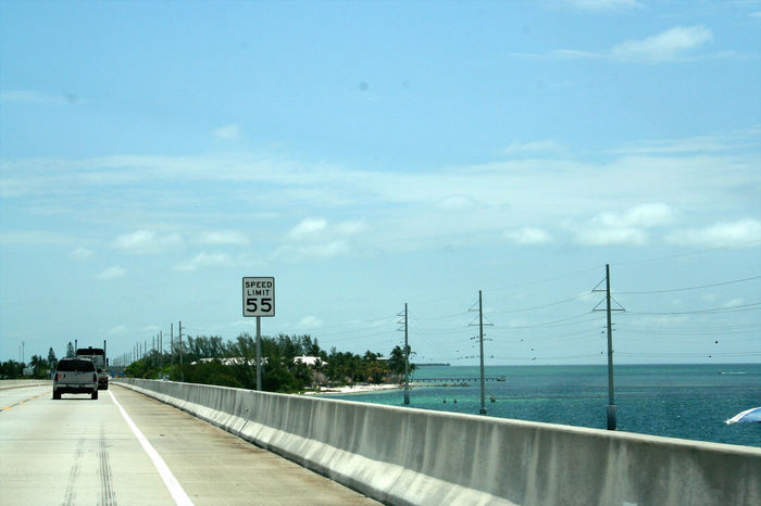 florida road trip Blue Blue Sky Car Florida Florida Life Highway On The Move Road Road Roadtrip Street Travel Water