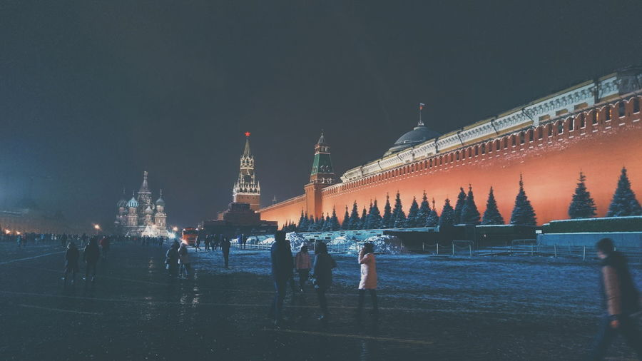 Красная площадь Moscow City Red Square Moscow