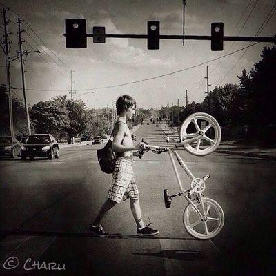 Walking the Bike EyeEm Streetphotography