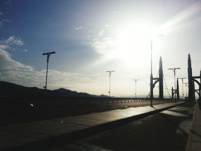 Sunlight Shine Bright Moring Running Time