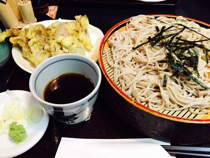 Food Soba Noodles Enjoying Life