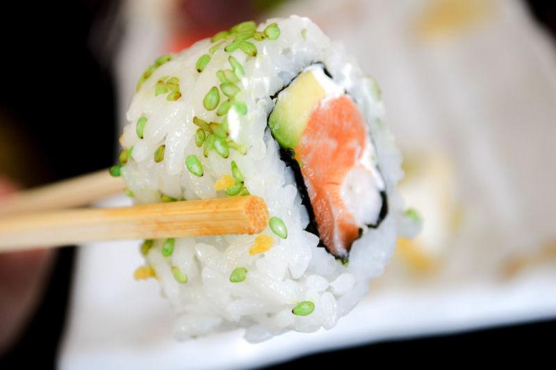 sushi at the