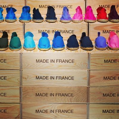 Shoes - Made in france. #bbb #bbb2014 #fashion #fashionweek #colours