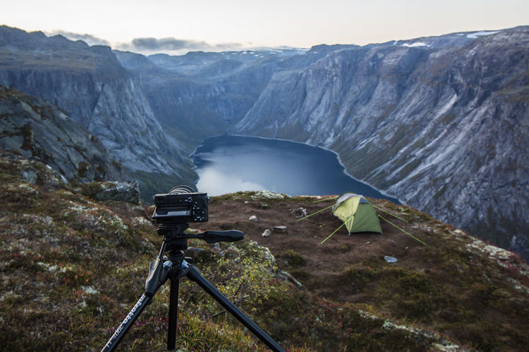 Photosesion Nature Beauty In Nature Water Outdoors No People Mountain Scenics Landscape River Day Glacier Beauty Lost In The Landscape Done That. Been There. Norway🇳🇴 Trolltunga Photographer Sony An Eye For Travel Love Yourself