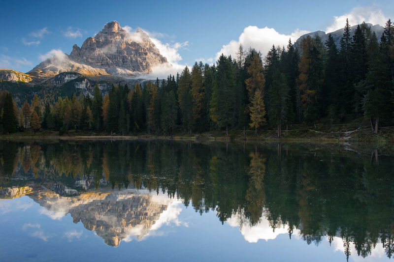 Dolomity mountain Beauty In Nature Dolomity Mountain Nature No People Scenics - Nature Sky Tranquil Scene