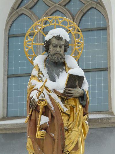St. Peter Winter Snow Ulm