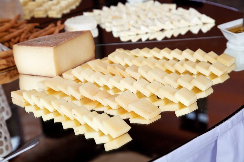 Cheese Food And Drink Industry Finger Food Gourmet Row Variations Nobody Restaurant Grocery Market Store Alimentation Diet Lunch Breackfast Dinner Brunch Snack Time! Slices Cheese Food And Drink Still Life Indoors  Food No People Large Group Of Objects Freshness Ready-to-eat Healthy Eating