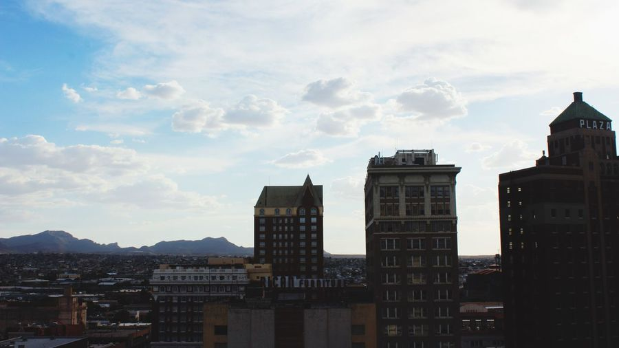 People And Places Built Structure City Sky Tall - High Building Story Dowtown El Paso Texas