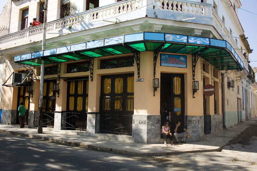Restaurante La Tropical, en Regla, La Habana, Cuba Cuba Cuba Collection Havana Adult Architectural Column Architecture Building Building Exterior Built Structure City City Life Day Entrance Façade Incidental People Leisure Activity Lifestyles Outdoors People Real People Regla Street Tropical Walking Women