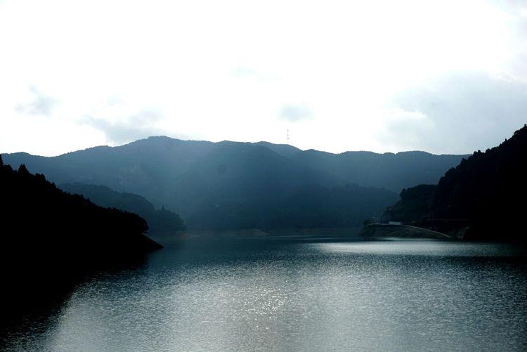 江川ダム付近。 Fukuoka,Japan Akizuki Nature Photography Water Reflections Looking At Camera Shorttrip Sky And Clouds Cloudy Day Nature_perfection Naturelovers