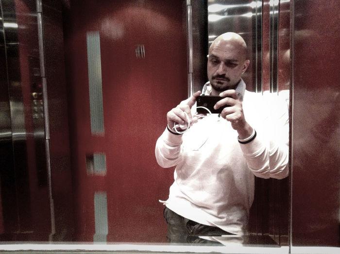 Portrait Selfportrait Selfie Relaxing