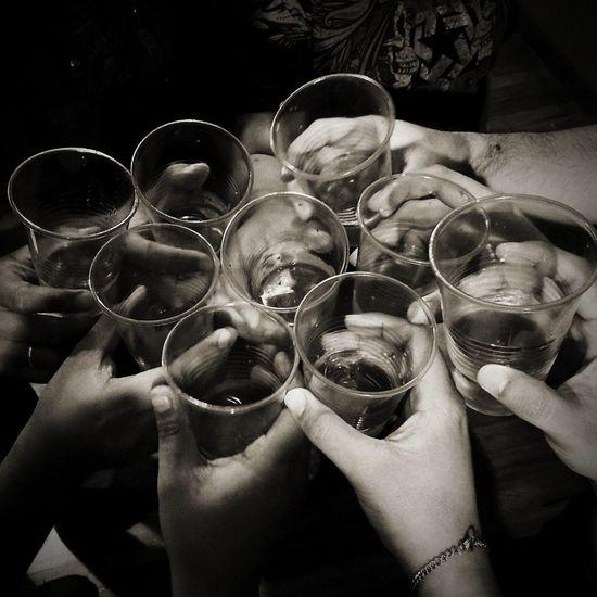 Drinking Celebration Celebratory Toast Friendship Togetherness No People