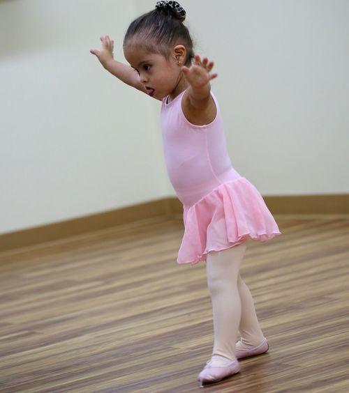 Ballet Ballet Dancer Down Syndrome Girls Pink Discipline