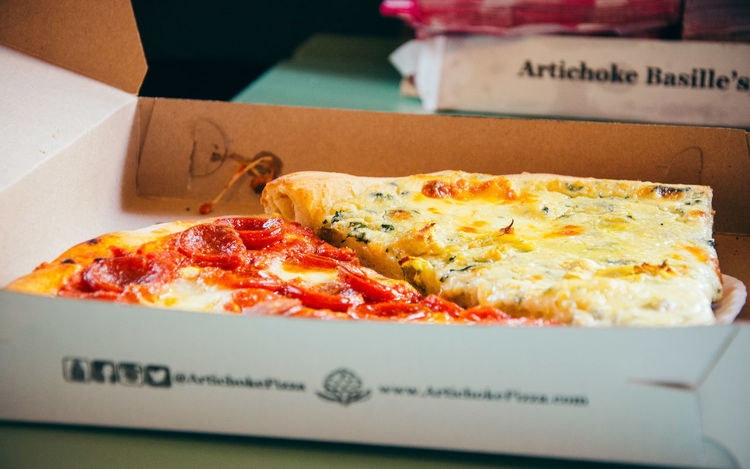 Last Summer USA Usa Trip 2017 Let's Go Explore Last Days Of Summer Travelling Travel Photography New York City NYC Photography NYC Food Food And Drink Pizza Ready-to-eat Pizza Box Cardboard Fast Food American Pizza Foodporn