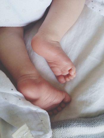 Baby Newborn Babyfeet Couchpotato