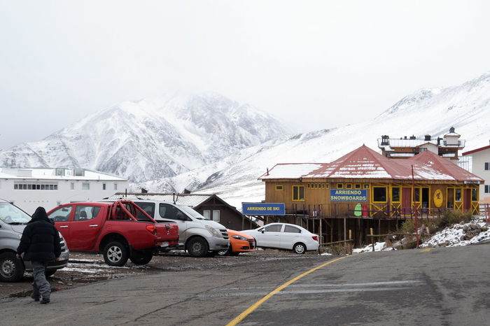 Andes Cabin Cold Cold Temperature Cottage Day La Parva Landscape Mountain No People Outdoors Patagonia Scenic Season  Ski Ski Rental Skiing Snow Travel Winter