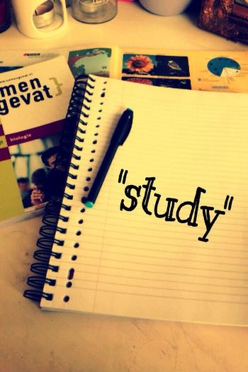 Study for the tests next week Examens  Study Book Biology