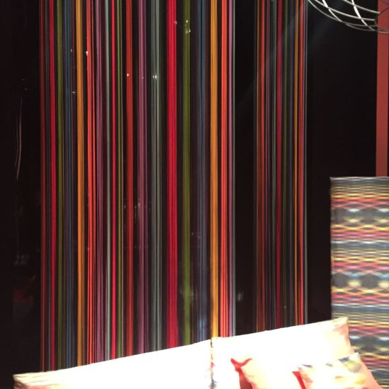 Abstract Architecture Colors Ethereal Light Lines Missoni Salonedelmobile