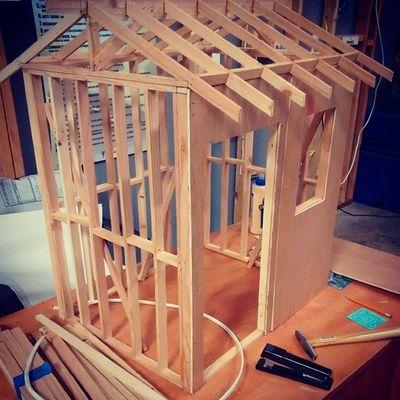 Mini house in progress lol
