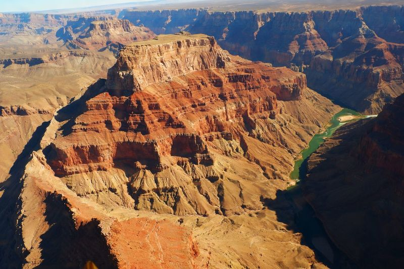 The Grand Canyon Amazing View USA Arizona Orange Beautiful Stunning Grand Canyon National Park Grand Canyon Scenics - Nature Mountain Landscape Nature Tranquility Beauty In Nature Tranquil Scene Environment Travel Destinations Sunlight Rock Formation Day My Best Photo