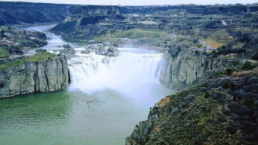 Scenics Waterfall Landscape Outdoors Snake River Canyon Shoshone Falls
