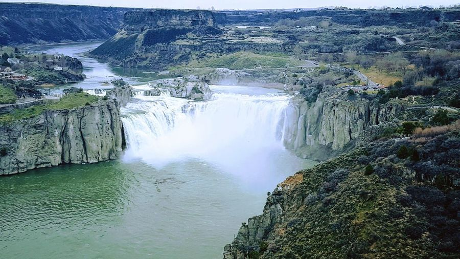 Scenics Waterfall Landscape Outdoors Snake River Canyon Shoshone Falls