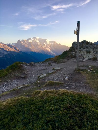 Mont Blanc from