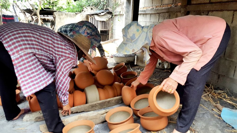 How to make pottery 1 Working People Nature Pottery Art Cup Pottery Chiang Mai | Thailand Chiangmai
