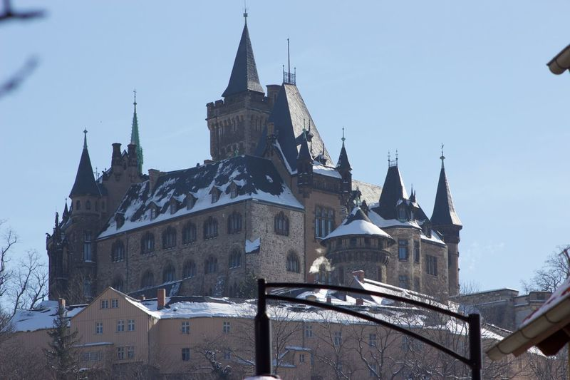Schloss Wernigerode Schloss Schloss Werningerode Architecture Low Angle View Built Structure History Building Exterior Sky Day No People Outdoors