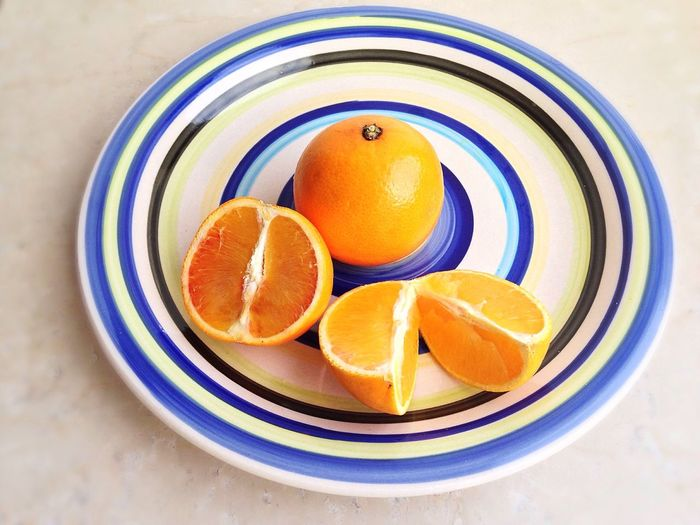 15/365 One Year Project Day 15 January 15 2017 Orange - Fruit Fruit Healthy Eating Freshness Food Citrus Fruit Orange Color Food And Drink No People Close-up Indoors  Day Colors Plate Plating Vitamins Vitamin C
