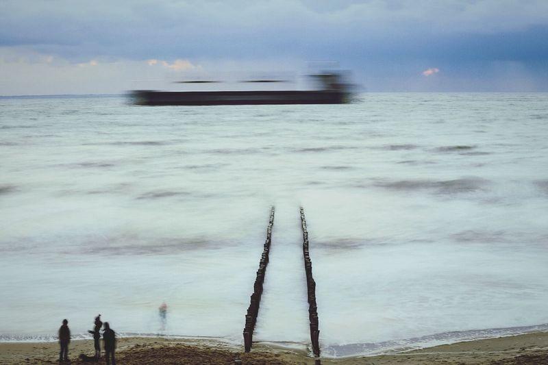 Capturing Movement Landscape Smart Simplicity Seascape Appearance Beachphotography