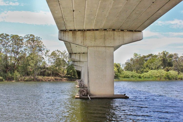 Water Sky River Day Outdoors No People Scenics EyeEmNewHere Bridge - Man Made Structure Wauchope
