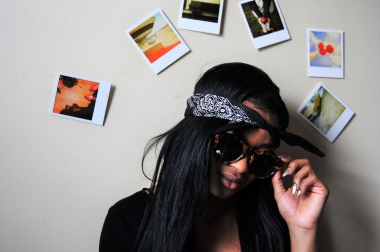 Aesthetic Bandana Fashion Girl Hair Nails Poloroid Tumblr Urban Summer Exploratorium