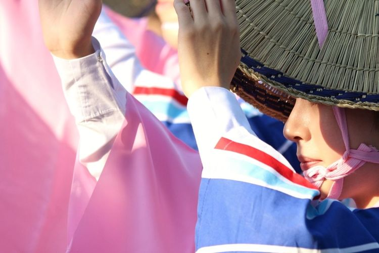 Japan streert shot/ Japanese festival/ outdoors/ Japanese fashion/ Japanese Culture Japanese Feastival Japanese Style Japanese Traditional Events Japanese Traditional Fashion Low Angle View People People Photography People Watching Street Shot The Great Outdoors - 2017 EyeEm Awards The Street Photographer - 2017 EyeEm Awards