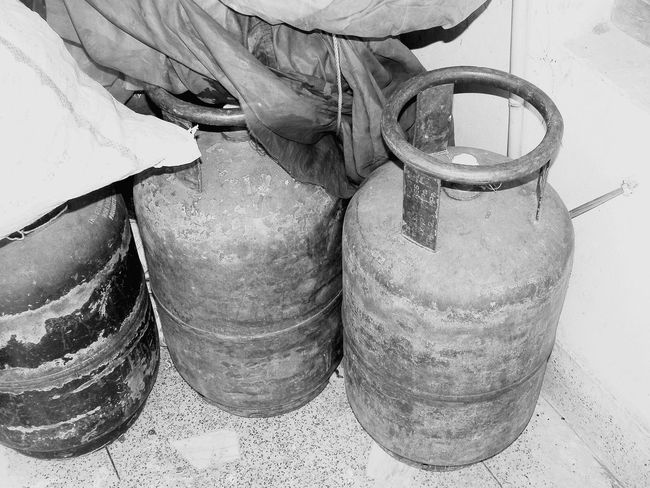 Gas Cylinder Gas Is Expensive Blackandwhite Photography Old Stuffs In House Taking Photos Bored At Home