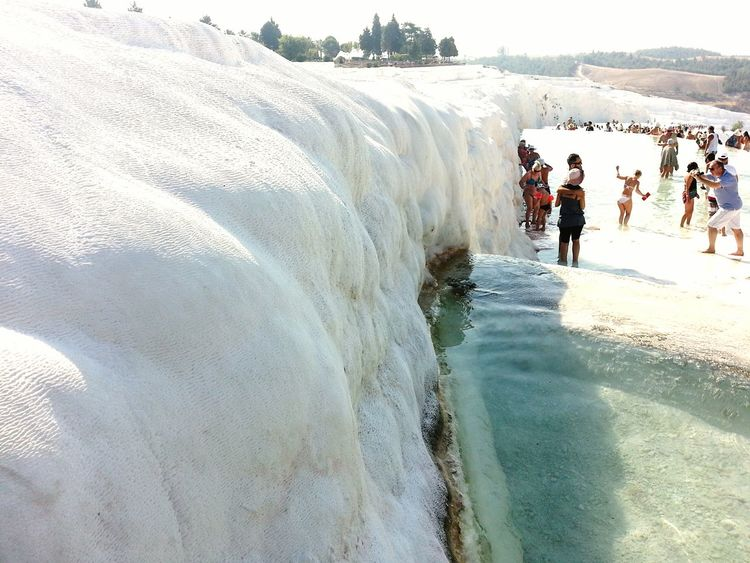 ızmir ❤ Denizli Verynice View Pamukkale Pamukkale Travertenleri Holidays Natural Naturalwater Sun