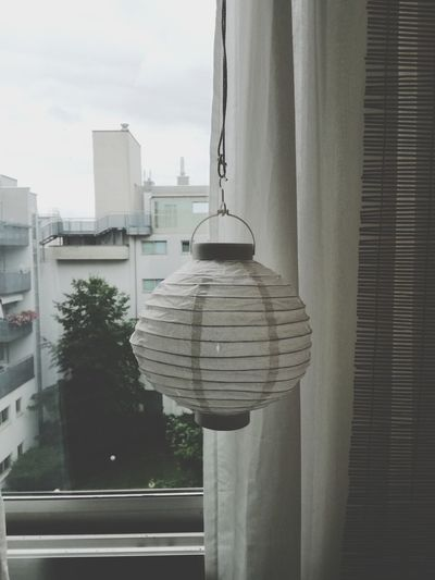Home Showcase Interior Home Interior Balcony View Balconygraphy Balcony Moment Terrace Scene Living At Home City Flats Looking Through Window No People Hanging Day Outdoors Tree City Sky Architecture Cityscape