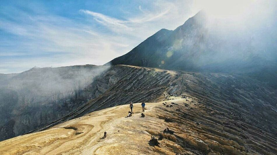 The Great Outdoors - 2017 EyeEm Awards EyeEmNewHere Travelingindonesia Travelphotography Travelgram Travelingram Lifestyles Photooftheday Picoftheday Potraitphoto Nikon D750 Outdoors Pesonaindonesia Wonderful Indonesia Quality Time Nature Mountain Cloud - Sky Real People Nature Day Sunlight Landscape Adventure Hiking