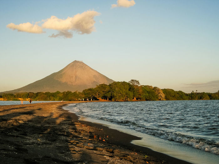 Ometepe Island in Nicaragua. Backpacking Exploring Hiking Lakeview Latin America Nature Photography Nicaragua Travel Photography Adventure Golden Hour Island Landscape Ometepe Scenery Summerfeeling Sunrise Trekking Day Vulcano Vulcano Island