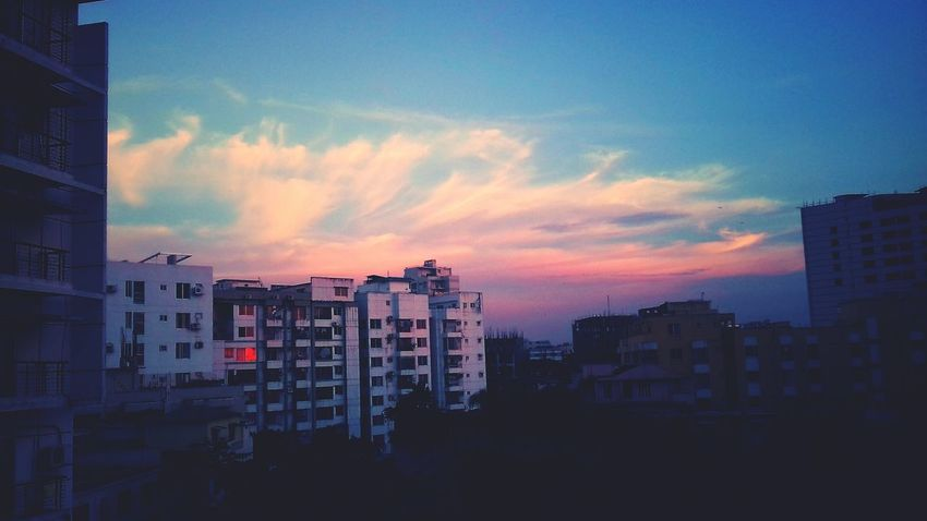 Sunset City Sky Building Exterior Cityscape Urban Skyline Outdoors Cloud - Sky Architecture No People Built Structure Skyscraper Day