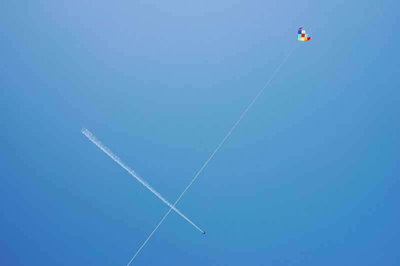 Kite and plane, Festival of the Winds, Bondi Beach, Sydney. Sydney Kite Flying A Kite Priime