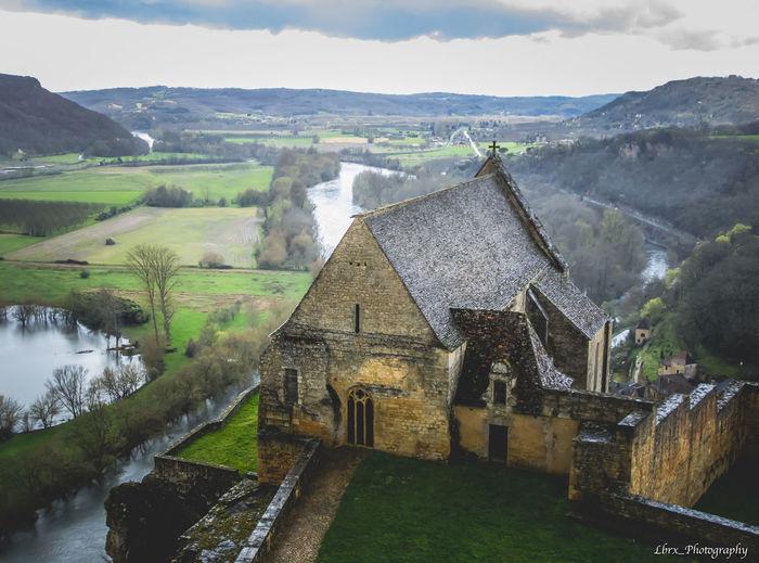 Beynac-et-Cazenac Castle Dordogne France Beynac Canon Château Perigord