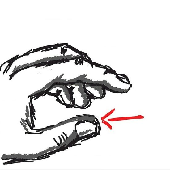 My Drawing for Thumb on DrawSomething