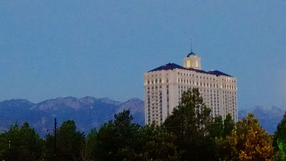 Grand America Hotel Wasatch Front Mountains Trees