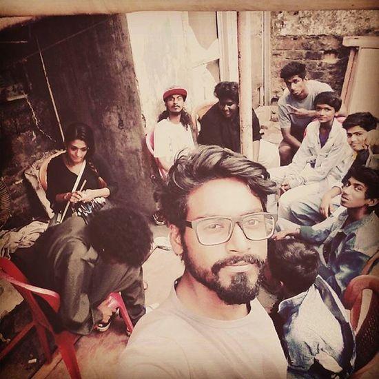 On sets with 7bantais Delhi2dublin music video shoot Dharavi Dopeadelicz Shadowbox
