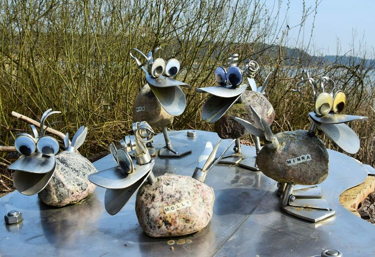 Für Ursula No People Animal Group Of Animals Day Nature Sky Water Plant Outdoors Bird Art And Craft Representation Tree Joke Fantasy
