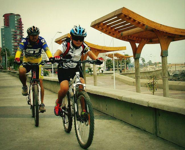 En la carrera - In the race Walking Around Antofagasta Sports Excercising