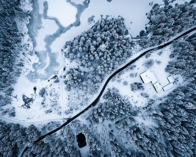 Bavaria Blue Hour Drone  Hintersee Ice Snow ❄ Winter Beauty In Nature Birdseyeview Cold Temperature Day Dji Germany Nature No People Outdoors Scenics - Nature Snow Snowcapped Mountain Tranquil Scene Tranquility Winter