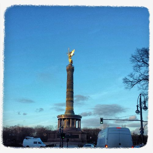 Siegessäule Berlin Siegessäule Walking Around Camping Getting In Touch