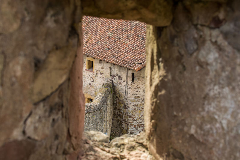 Architecture Bad Condition Building Exterior Built Structure Castle Damaged Day Exterior History House Lothringen Medieval No People Obsolete Old Old Town Outdoors Residential Structure Stone Wall Wall - Building Feature Weathered